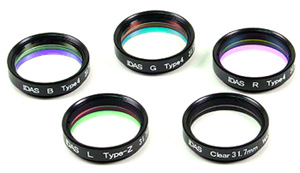 IDAS Tri-color/Quad-color Interference Filters