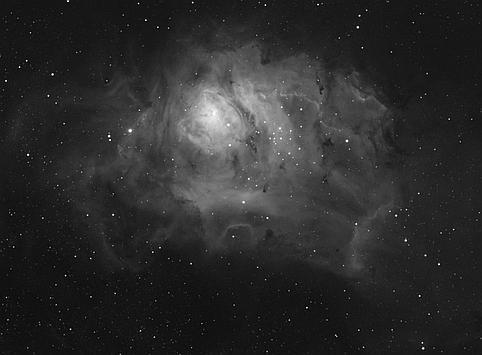 M8 nebula