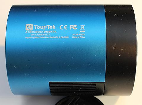 side of ToupTek ATR3-16000-KPA