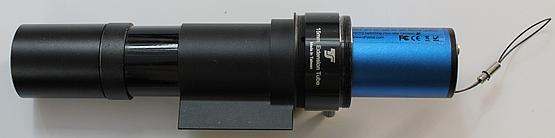 Finderscope guider with QHY5R-II