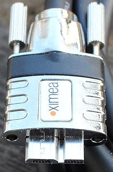 Ximea has dedicated USB cables for their cameras