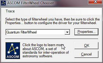 Wybór koła filtrowego w FireCapture