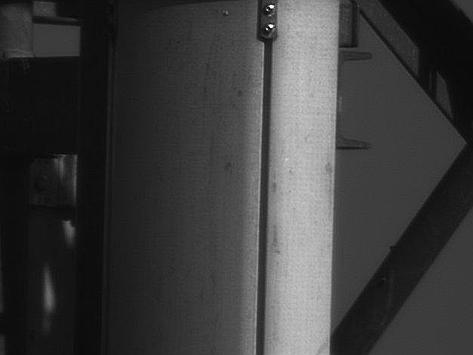 Fotografia tej samej anteny wykonana zestawem do fotografowania planet.