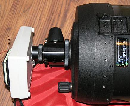 Gotowy wiatrak do chłodzenia teleskopu SCT