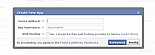 Tworzenie aplikacji facebookowej - pytanie o nazwę