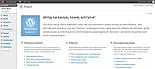 Strona startowa Panelu Admin Wordpressa