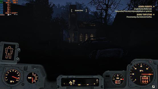 Fallout w nocy jest chyba trochę za ciemny