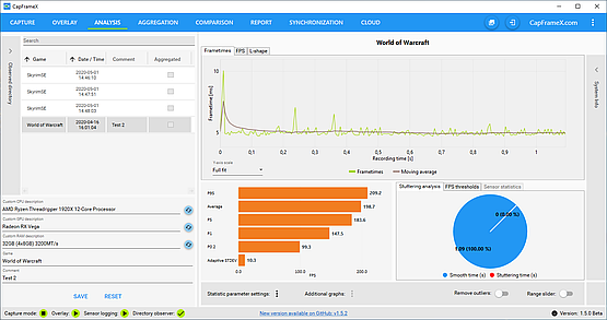 CapFrameX provides similar overlay and can create benchmark charts instead of just logging results to a text file.