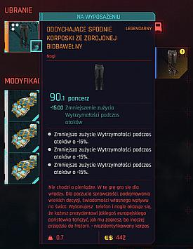 Pants with 3 slots
