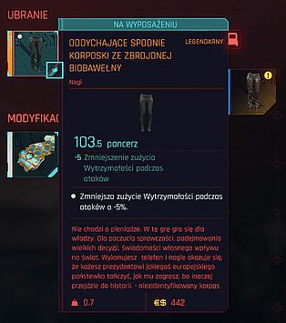 Pants with one mod slot are way way worse than pats with three slots