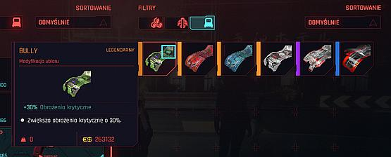Legendary weapons and mods can reach high prices in shops