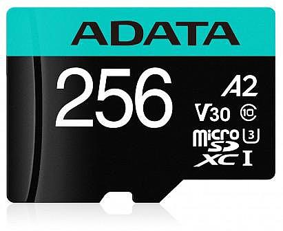 ADATA MicroSDXC A2 Premier Pro 256 GB card could potentially work as an SSD replacement