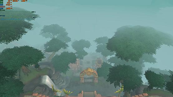 Dazar'alor Harbor view at mode 1, 4 and 7