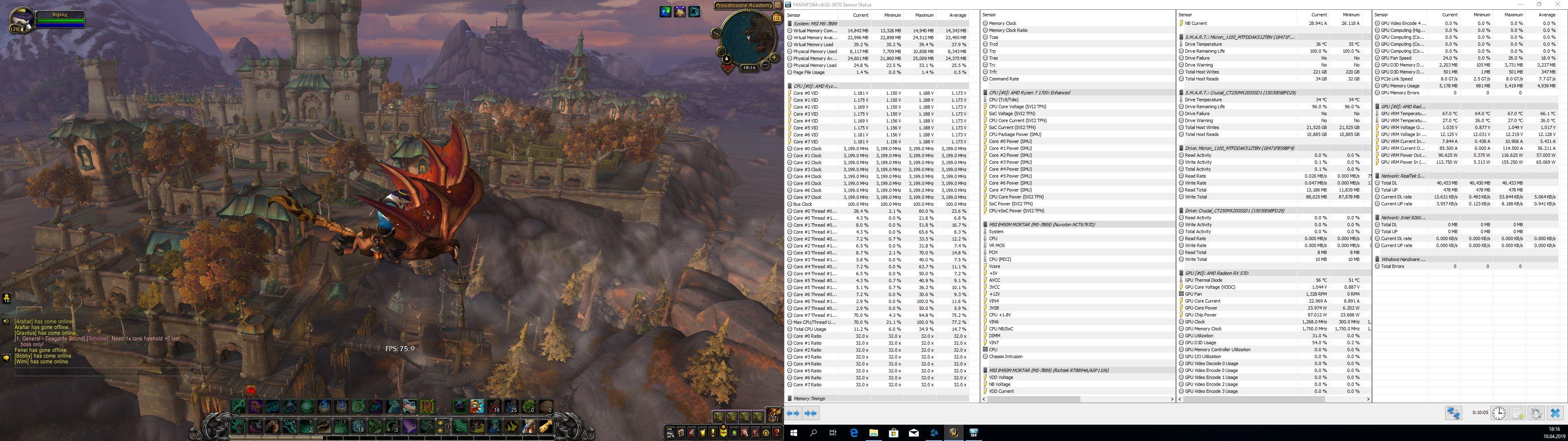 RkBlog :: Building a software developer PC based on Ryzen 7 1700