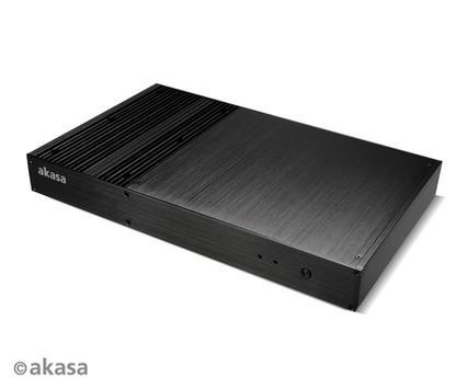 Akasa PC-case-radiator looks pretty and blocks dust from getting inside