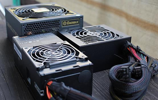 ATX is taller than SFX and TFX power supplies