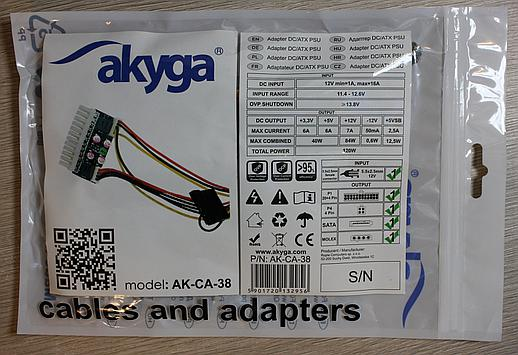 Akyga PSU specifications