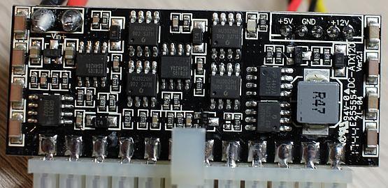 Akyga DC adapter PCB