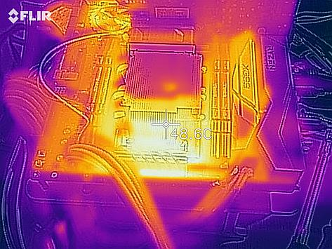 Dynatron A26 thermal image