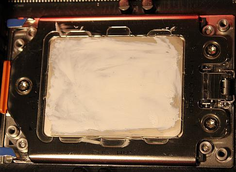And with Ceramique thermal paste