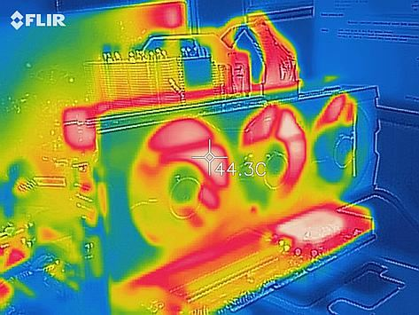 R9 Fury thermal image
