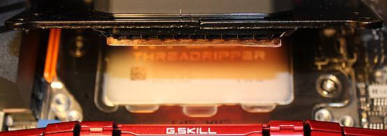 Water block compared to CPU heatspreader size