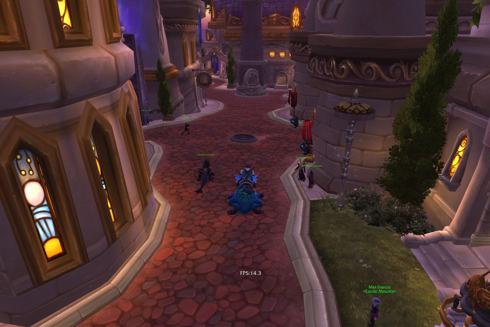 World of Warcraft offers a native AARCH64 client