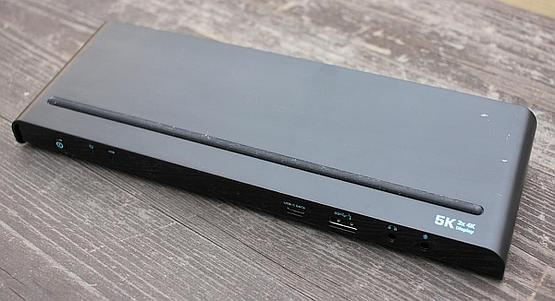 i-tec docking station capable of 4K60 DisplayPort output