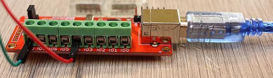 Numato Lab 8 pin USB GPIO board with terminal blocks
