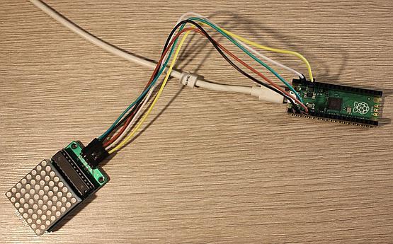 MAX7219 8x8 LED board