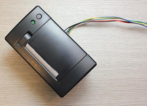 Serial thermal printer