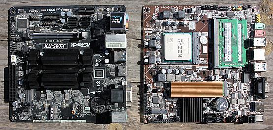 Mini-ITX versus Thin Mini-ITX