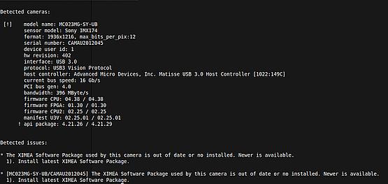 Listing cameras under Linux