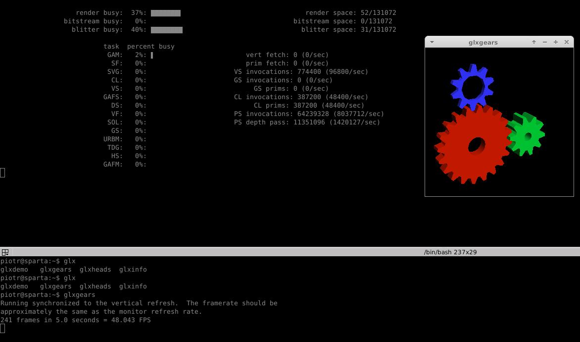 RkBlog :: Monitoring AMD, Intel and NVIDIA graphics card usage under