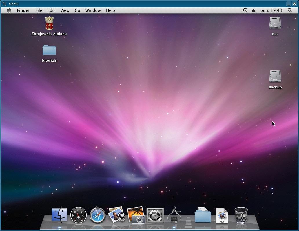 qemu installation on mac
