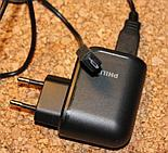 Micro USB cable connected to the power supply