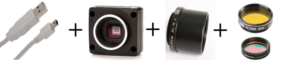 Color camera kit