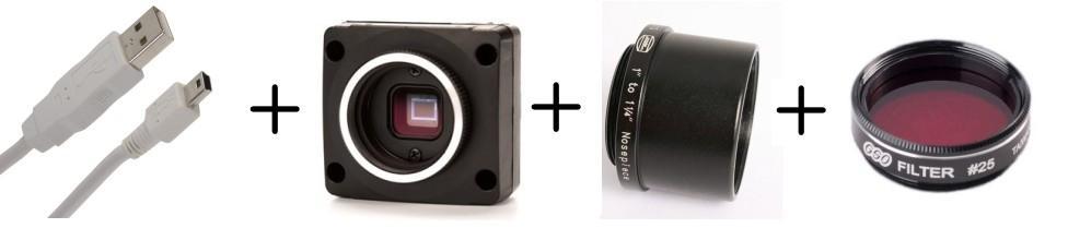 Mono camera starter kit