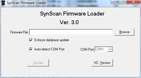 Firmware updater application