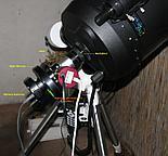 Zestaw C11 i HEQ5 do astrofotografii DS działa tylko w bezwietrzne noce