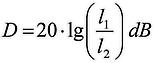 logarytmiczna odpowiedź matrycy