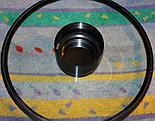 Płyta korekcyjna z lustrem wtórnym wyjęta z tuby SCT