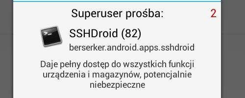 RkBlog :: SSH server on Android - remote access to your green robot