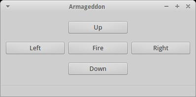 Aplikacja Armageddon do obsługi wyrzutni rakiet