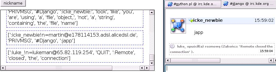 RkBlog :: Django, Comet and IRC client
