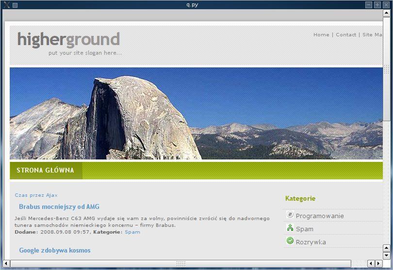 RkBlog :: WebKit in PyQt - rendering web pages