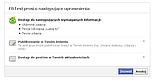 Pytanie użytkownika o autoryzację aplikacji FB