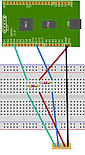 I2C with pullup resistors