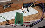 Testing the relay on a LED circuit
