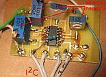 MCP3434 na własnoręcznie wykonanej płytce drukowanej